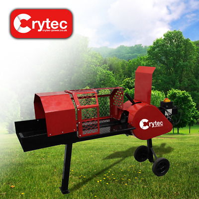 Crytec ZOOM 8 Ton Super Fast Kinetic Electric Log Splitter Wood Chipper Cutter • 549.95£