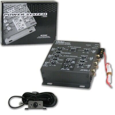 $ CDN125.10 • Buy Clarion Mcd360 Car Audio 2/3 Way 6-channel Electronic Crossover