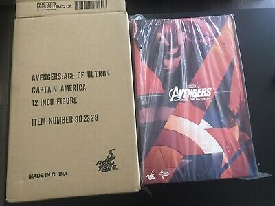 $ CDN734.96 • Buy Hot Toys Avengers Age Of Ultron- Captain America Action Figure NEW