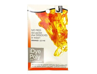 Jacquard IDye Poly Fabric Dye For Polyester & Synthetic Materials - Orange • 6.40£