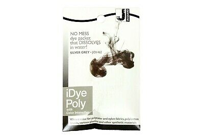 Jacquard IDye Poly Fabric Dye For Polyester & Synthetic Materials - Silver Gray • 6.40£