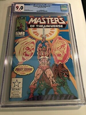 $79.99 • Buy Masters Of The Universe #1, May 1986, Marvel Comics, CGC Grade 9.0