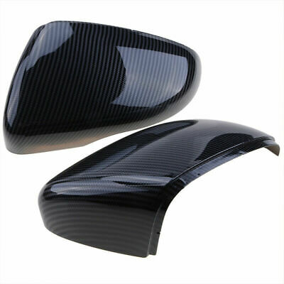 AU39.15 • Buy 1 Pair Carbon Fiber Side Wing Mirror Cover Caps For W Golf/GTI MK6 2009-2013
