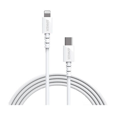 AU46.15 • Buy Anker PowerLine Select 1.8m USB-C To Lightning Cable A8613T21 - White