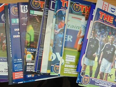 £1.99 • Buy Dundee FC Home Programmes - 1980s-2000s - Choose Games From Menu