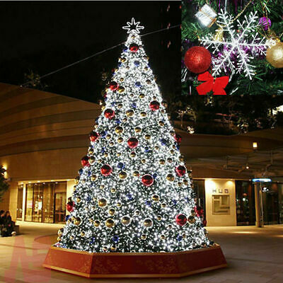 100PCS Christmas Snowflakes Decorations White Tree Party Ornaments Xmas Outdoor • 4.90£