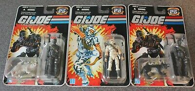 $ CDN348.58 • Buy 2007 Hasbro GI Joe 25th Anniversary Snake Eyes W/ Timber Storm Shadow Lot