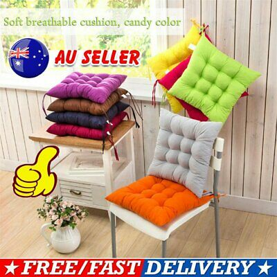 AU14.35 • Buy Indoor Outdoor Dining Garden Patio Home Kitchen Office Chair Seat Pads Cushio 9B