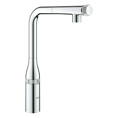£279.96 • Buy Grohe Chrome Single Lever Smart Control Pull Out Spray Kitchen Tap