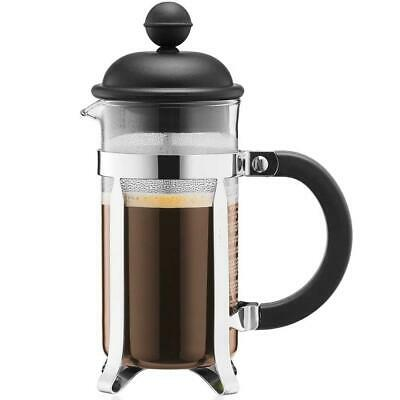Bodum Caffettiera French Press Coffee Maker, Black - 0.35 Litres, 3 Cup Capacity • 13.31£