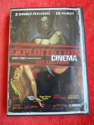£29.74 • Buy THE EXPLOITATION CINEMA COLLECTION 5 Double Features 10 Films DVD 48345-9W2