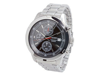$ CDN250.68 • Buy Seiko Chronograph 100m Men's Watch SKS421P1