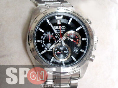 $ CDN265.35 • Buy Seiko Chronograph 100m Stainless Steel Men's Watch SSB299P1
