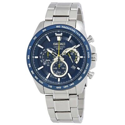 $ CDN330.68 • Buy Seiko Chronograph 100m Stainless Steel Men's Watch SSB301P1