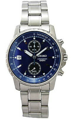 $ CDN265.35 • Buy Seiko Chronograph 100m Men's Watch SNN067P1 SNN067