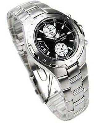 $ CDN265.35 • Buy Seiko Chronograph 100m Stainless Steel Men's Watch SNN129P1  SNN129