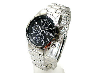 $ CDN265.35 • Buy Seiko Chronograph 100m Men's Watch SND367P1