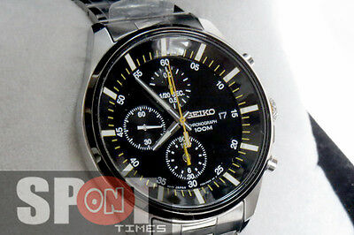 $ CDN317.35 • Buy Seiko Mens Chronograph 100m Men's Watch SNDC85P1