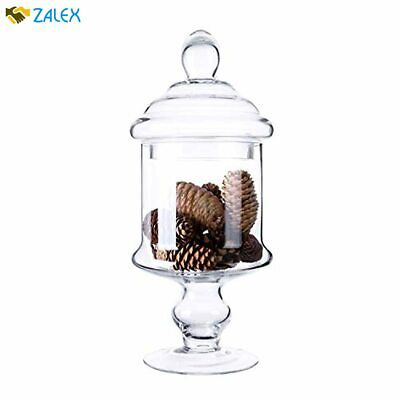 Diamond Star Apothecary Glass Candy Jar With Lids, Candy Buffet Display Elegant  • 22.38£