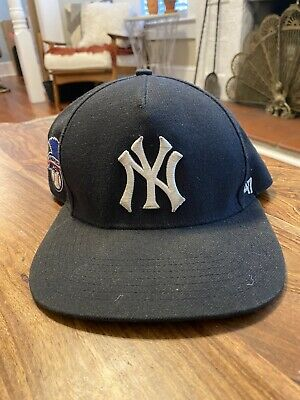$ CDN201.11 • Buy Supreme Yankees 47 Brand Snapback Hat Navy Used 100% Authentic Box Logo
