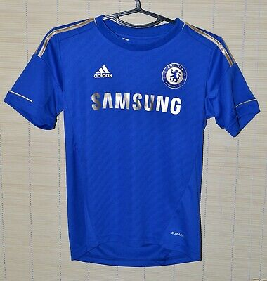 Chelsea London 2012/2013 Home  Football Shirt Jersey Adidas Size M Kids • 12.99£