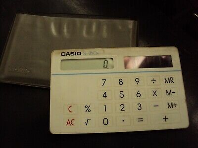 Vintage Casio Film Credit Card Calculator Sl760a • 20£