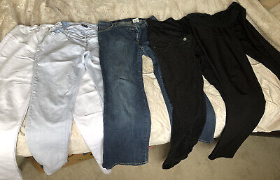 Maternity Jeans Trouser Bundle Size 10/12 Next / Yessica • 9.99£