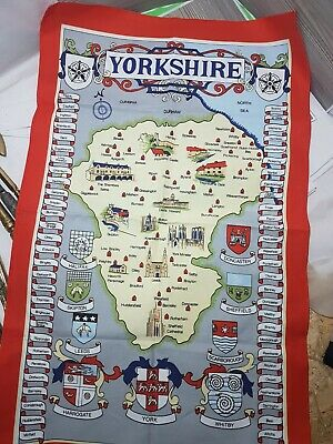 £4.99 • Buy Clive Mayor Tea Towel Yorkshire All Cotton Made In Britain