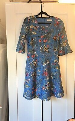 £11 • Buy Oasis Blue Coctail Dress, Size Small