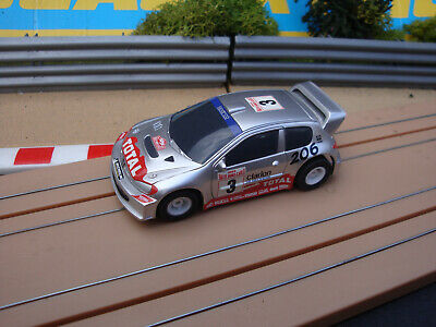 New 1:64 Scale Complete Micro Scalextric Peugeot Car - More Cars 4 Sale • 8.95£