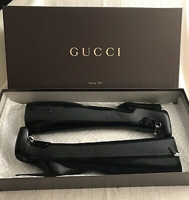 Women's Gucci Boots, Lillian Leather, Horsebit, Size 5B New With Box And Bag • 566.33£