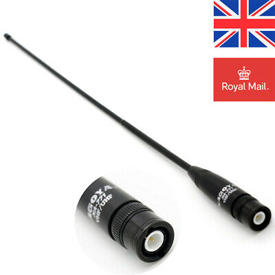 Newest Version! Original Nagoya NA-771 Dual-Band Flexible Antenna BNC ICOM Radio • 13.49£
