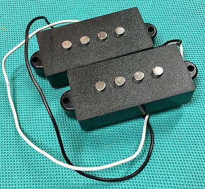 $ CDN50.12 • Buy Silvertone Bass Guitar Original Black Pickups Set