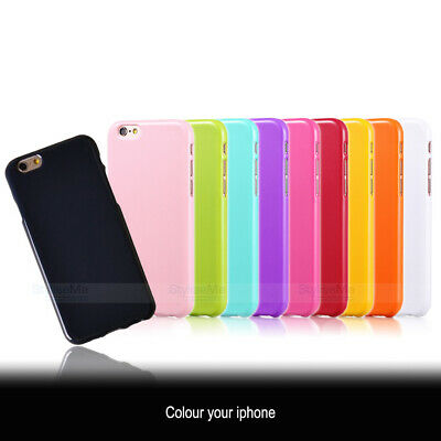 AU4.99 • Buy IPhone 8, 7, 6 / 6S Cover For Apple Slim Gel Silicone Case Assorted Colours