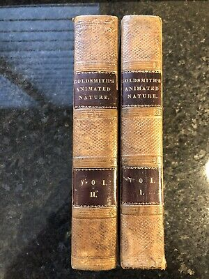 A History Of The Earth & Animated Nature By Oliver Goldsmith V. 1 & 2  • 65£
