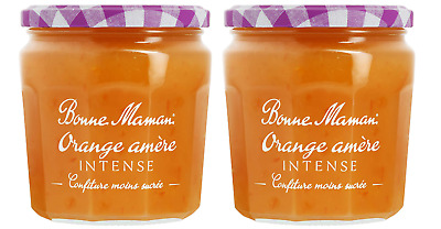 2 X Jars Bonne Maman Orange Intense Jam 335g Imported From France French  • 11.95£