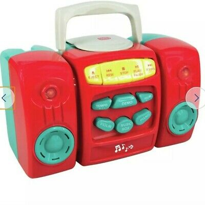£16.99 • Buy New Elegant Chad Valley CD-Player In Red Colour With Musical Fun