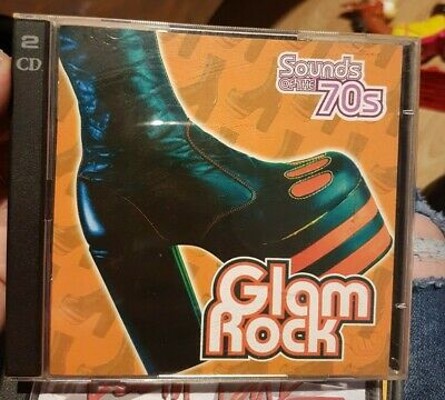 SEALED Sounds Of The 70s : Glam Rock - Time Life TL 469/31  2x CD  • 39.99£