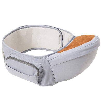 Baby Hip Seat Carrier | Wemk | Grey | Unisex | 0-36 Months  • 12.80£