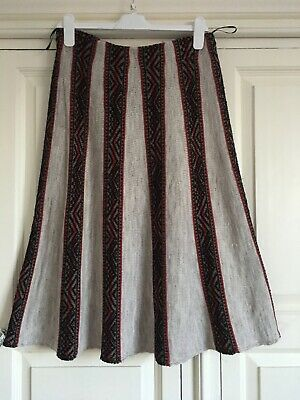 Primark Ladies Knitted A Line Skirt Size 12-14 • 12£