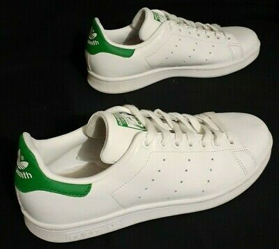 AU46.95 • Buy Adidas Originals Stan Smith Sz US 6 Sneakers Mens Trainers Shoes White Green 5.5