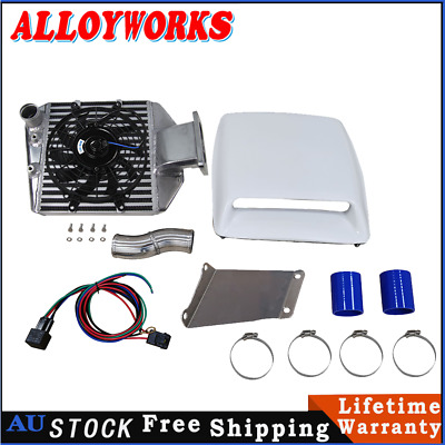 AU599 • Buy For Toyota Landcruiser 80 100 105 Series 1HZ&1HDT 4.2L Top Mount Intercooler Kit