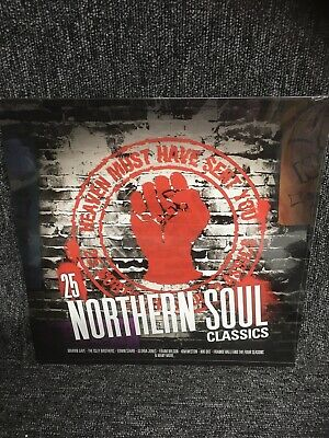 Heaven Must Have Sent You – 25 Northern Soul Classics [VINYL] 2 Lp. New Sealed. • 13.75£