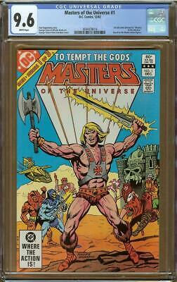 $109.95 • Buy Masters Of The Universe #1 (1982) CGC 9.6