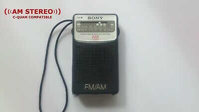 Sony SRF-AX15 FM AM Stereo C-Quam Portable Radio • 50£