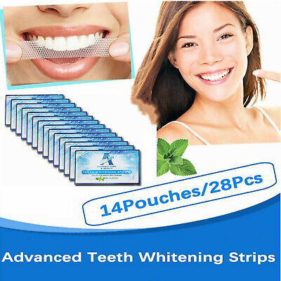 AU14.99 • Buy 28PCS Professional Teeth Whitening Strips Tooth White Toothpastes Home Oral Care