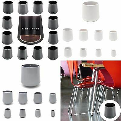 £9.35 • Buy RUBBER FERRULES Chair Stool Table Feet Grip Tip End Caps - Made In Germany