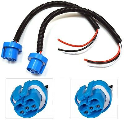 $10 • Buy Extension Wire Pigtail Female P 9007 HB5 Head Light Harness Bulb Connector Plug