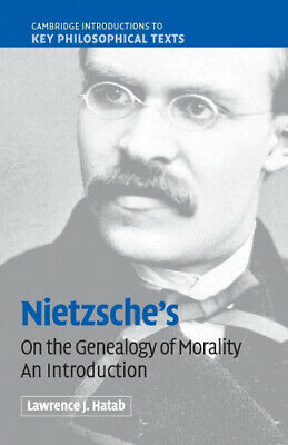 Nietzsche's 'On The Genealogy Of Morality': An Introduction (Cambridge • 21.88£