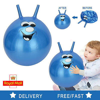 £8.59 • Buy 60cm Large Exercise Retro Space Hopper Play Ball Toy Kids Adult Game Uk